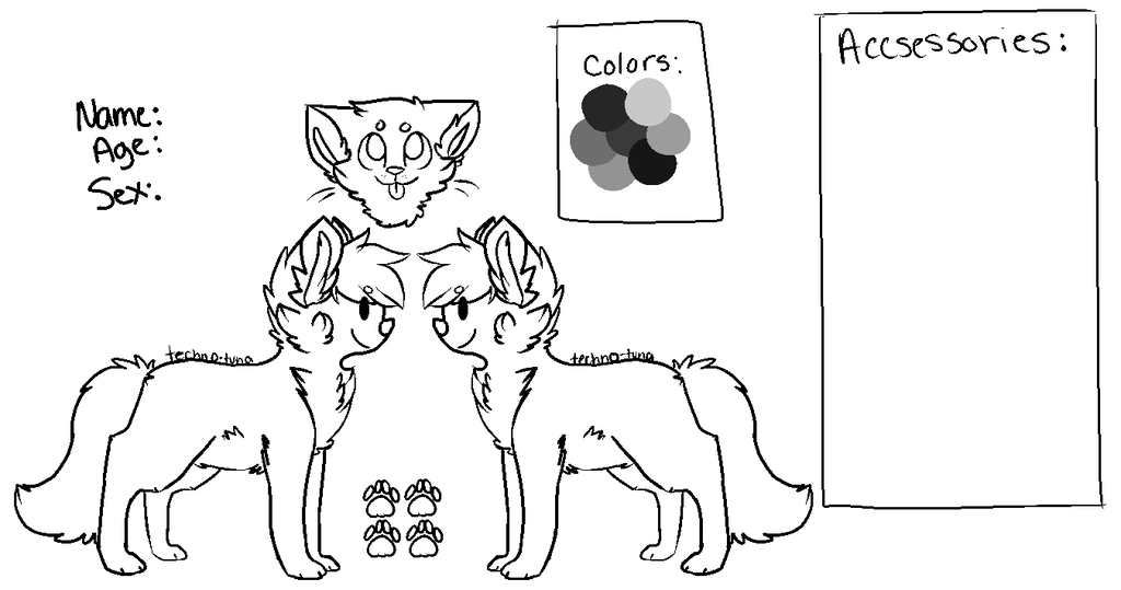 cat_reference_lineart_free____re_done___by_techno_tuna-d66a08p.png