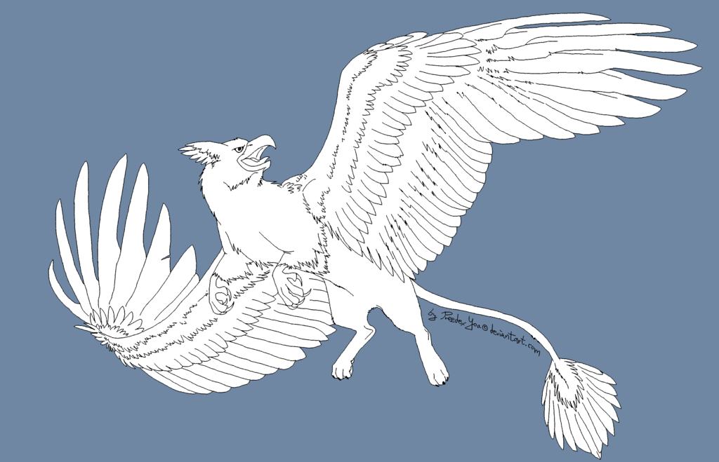 flying_narnia_griffin___free_lineart_base_by_preedexyoa-d5kr6dz.png