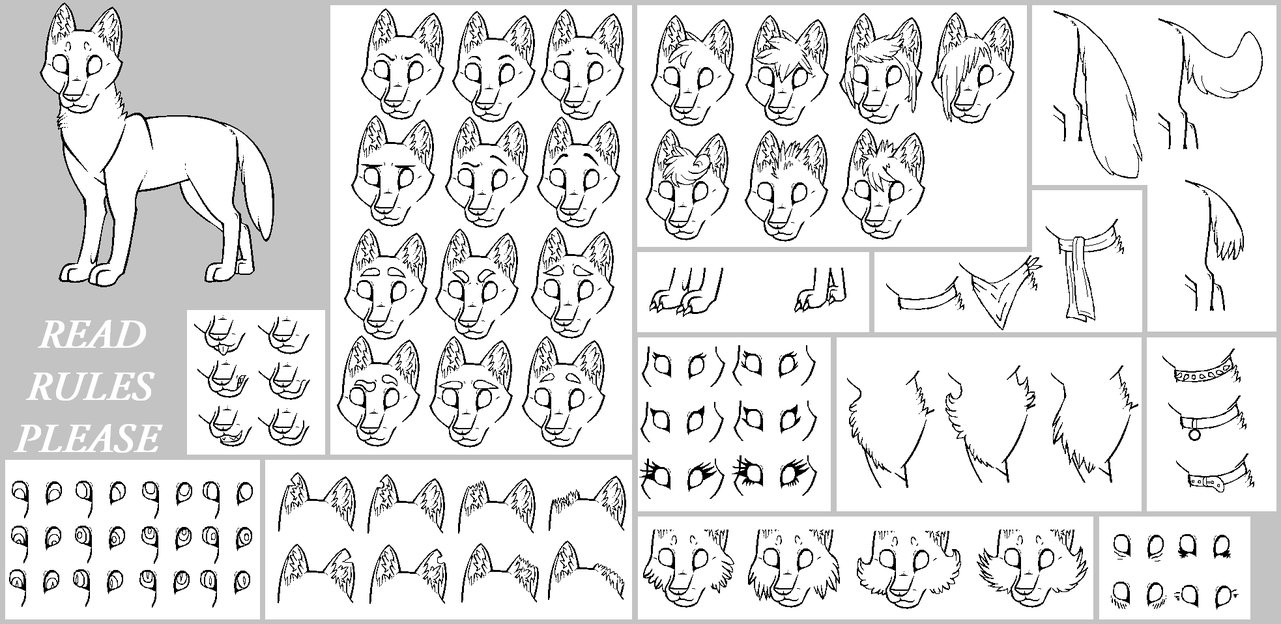 lineart_pack_4__wolf___read_rules__by_kitty_12-d5jbqk1.png